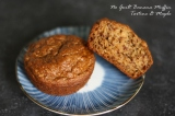Banana Bread Muffins: low fat, low sugar, no guilt!!!