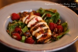 Raspberry pistachio chicken salad, this berry has called my name…