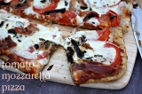 Tomato Mozzarella Pizza. Bring'em to the yard!!!!