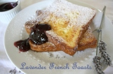 "Lavender French Toasts. ""Pain Perdu a la Lavande"""