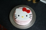 Hello Kitty Cake for my sweet Baby's BD