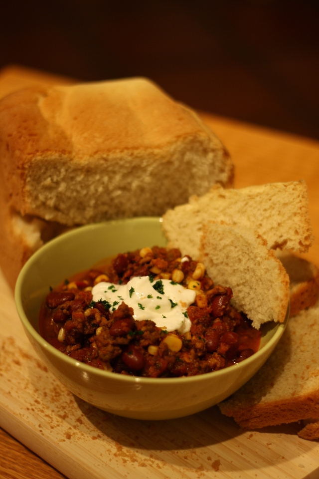 Tailgate Chili Con Carne - Tartine & Maple