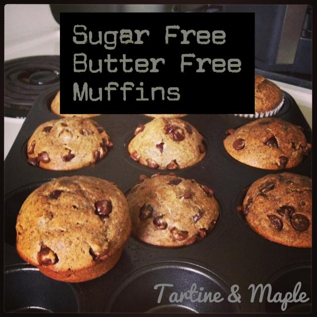 Sugar Free, Butter Free Muffins - Tartine & Maple