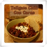 Tailgate Chili Con Carne, THE must for your Super Bowl Party!!!