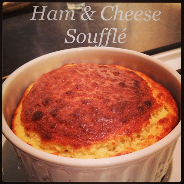Ham & Cheese Souffle - Tartine & Maple